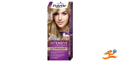 Schwarzkopf hajfesték Palette Color Creme N7 világosszőke b4ccdbdf0c