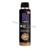 Fa férfi deo 150 ml Energy Zone 3-D Ptotect