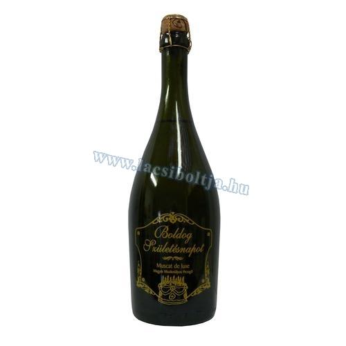 boldog születésnapot pezsgő Boldog Születésnapot muskotályos édes pezsgő 0,75 l boldog születésnapot pezsgő