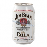 Jim Beam whiskey & Cola 0,33 l