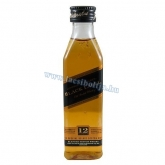 Johnnie Walker Black Label Whisky 0,05 l mini üveges