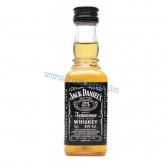 Jack Daniels whisky 0,05 l mini üveges