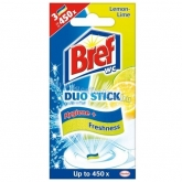 Bref Duo Stick 3 db Lemon Lime 27 g wc fertőtlenítő csík
