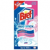 Bref Duo Stick 3 db Fresh Flower 27 g wc fertőtlenítő csík