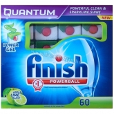 Calgonit Finish mosogatgép tabletta Quantum 60 db Apple-Lime Mega Pack