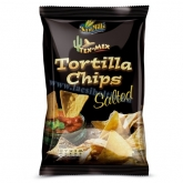 Sam Mills Tex-Mex tortilla chips salted (sós) 125 g