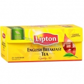 Lipton English Breakfast fekete tea 25 x 2 g