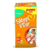 Pampers Sleep & Play pelenka (4) 68 db-os Maxi 7-18kg