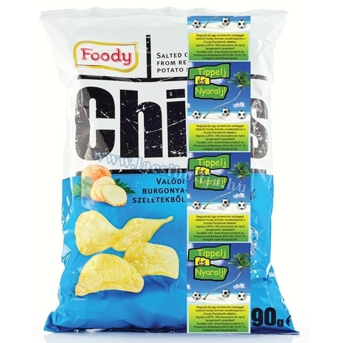 Foody chips sós 90 g