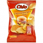 Chio chips Streetfood cheesburger 75 g