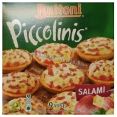 Buitoni piccolinis pizza salami (szalámis) mini pizza 270 g