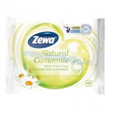 Zewa nedves toalett kendő 42 db-os Natural Camomile
