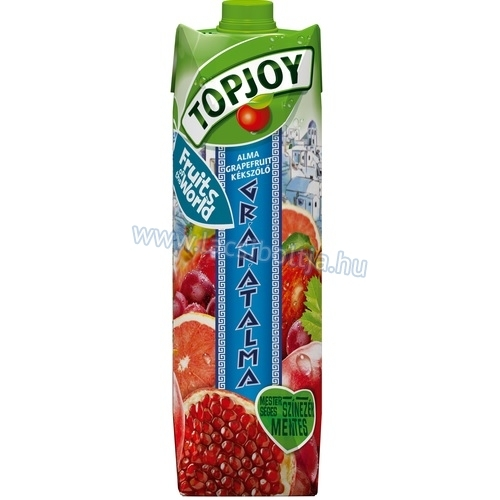 Top Joy fruits of the world 1 l Alma-grapefruit-kékszőlő-gránátalma