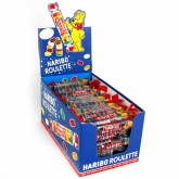 Haribo gumicukor 25 g Roulette