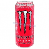 Monster energiaital 500 ml Ultra red Zero (cukormentes)