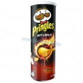 Pringles dobozos chips 165 g  hot & spicy