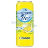 San Benedetto Ice Tea 0,33 l Citromos x 24 db