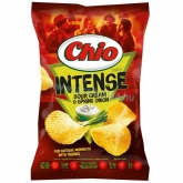 Chio chips Intense sour cream & spring onion 70 g