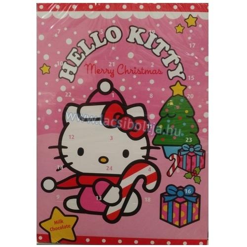 hello kitty adventi naptár Disney adventi naptár Hello Kitty 75 g hello kitty adventi naptár