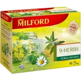 Milford tea 40 x 2 g 9 herbs herbal infusion