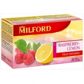 Milford tea málna-citrom (Raspberry-Lemon) 20 x 2,5 g