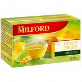 Milford tea green citrus fruits 20 x 1,75 g