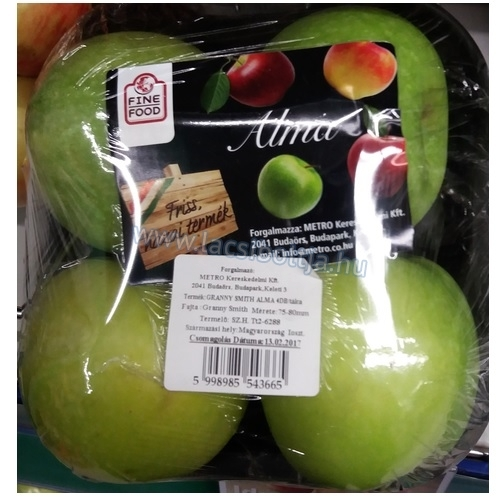 Alma Granny Smith 4 db