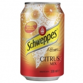 Schweppes 0,33 l Citrus mix