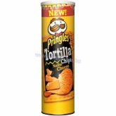 Pringles Tortilla dobozos chips 160 g Nacho cheese