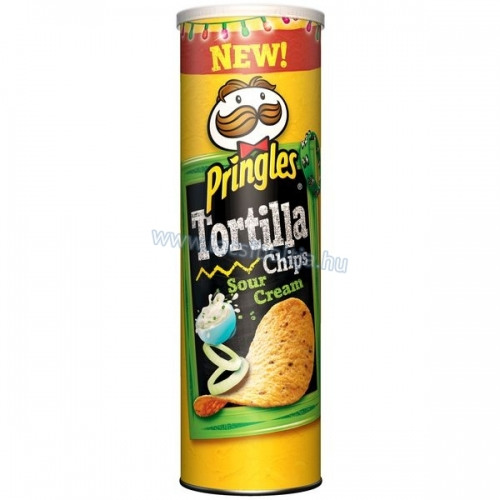 Pringles Tortilla dobozos chips 160 g Sour Cream
