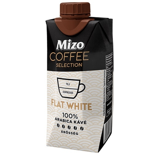Mizo Coffee selection Flat white uht 330 ml