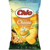 Chio chips újkrumpli Fresh Cheese and spring onion sajt és újhagyma 140 g