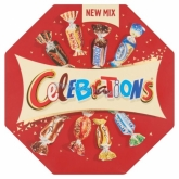 Celebrations desszert csokik center piece 186 g