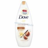 Dove női tusfürdő Purely pampering shea butter witj warm vanilia 250 ml