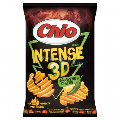 Chio chips Intense jalapeno & cheese 65 g