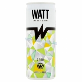 Watt energiaital apple-pear (almás-körtés) 250 ml ZERO