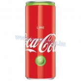Coca-Cola lime szénsavas lime ízű kóla 330 ml