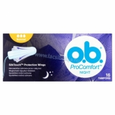 O.B. ProComfort Night Normal tampon 16 db
