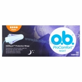 O.B. ProComfort Night Super tampon 16 db