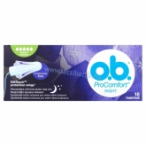 O.B. ProComfort Night Super + tampon 16 db