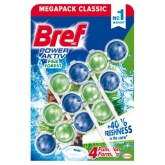 Bref Power Aktiv Pine Forest WC-frissítő 3 x 50 g