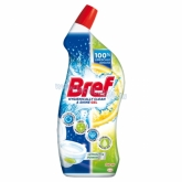 Bref Hygienically Clean & Shine Lemonitta Power WC tisztító gél 700 ml