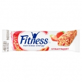 Nestlé fitness strawberry gabonaszelet 23,5 g epres