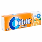 Orbit drazsé rágó Orange narancsízű 10 db 14 g