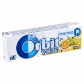 Orbit drazsé rágó white fruit 10 db  14 g