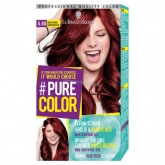 Schwarzkopf Pure Color tartós hajfesték 6.88 Málna vörös 4c5576b536