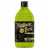 Nature Box Avokádó sampon a regenerált hajért 385 ml
