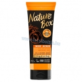 Nature Box Barack testradír a sima bőrért 200 ml