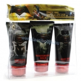 Batman Superman travel bag ajándékcsomag 3 x 75 ml