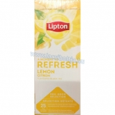 Lipton tea gasztro 25 filteres Lemon - Citromos 25 x 1,3 g Refresh